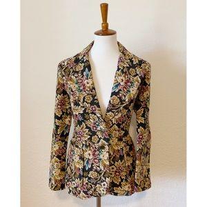 Vintage Tapestry Blazer Jacket